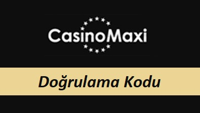 CasinoMaxi Doğrulama Kodu